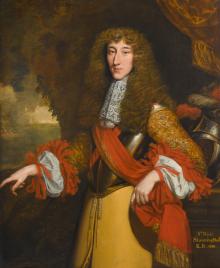 Portrait of Sir Nicholas Slaning