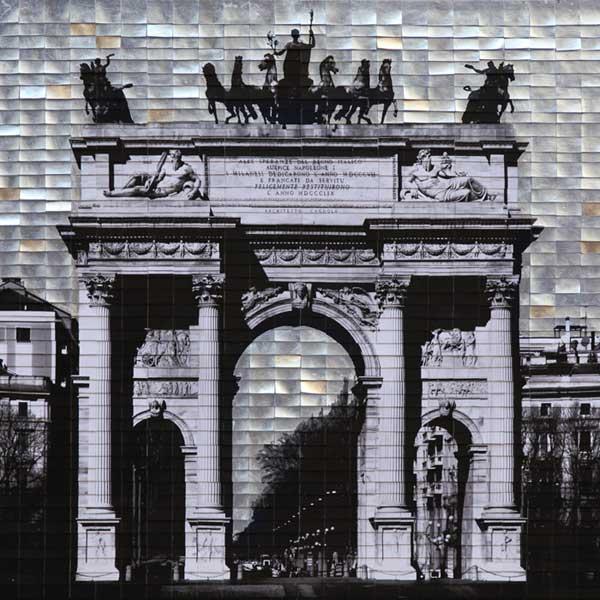 Arco della Pace, 2017, tecnica mista su tela, 120 x 120 cm.jpg