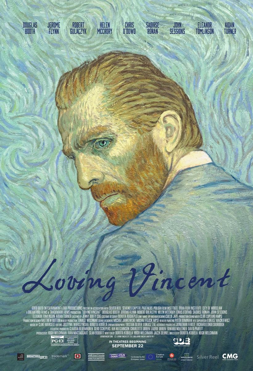 LOVING VINCENT: I capolavori di Van Gogh prendono vita al cinema