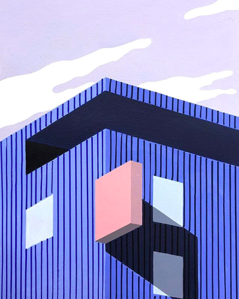 Ana Popescu acrylic on paper